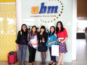 Kegiatan Campus Hiring UBM - PT alam Sutera Tbk, Kamis, 8 Februari 2018.