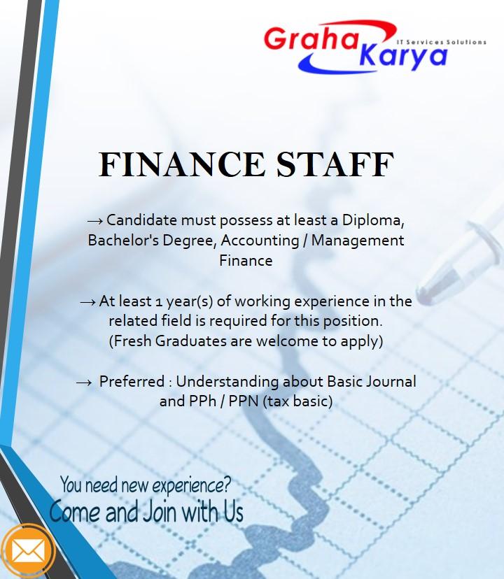 Finance Staff