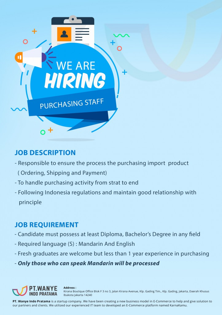 loker-purchasing staff web