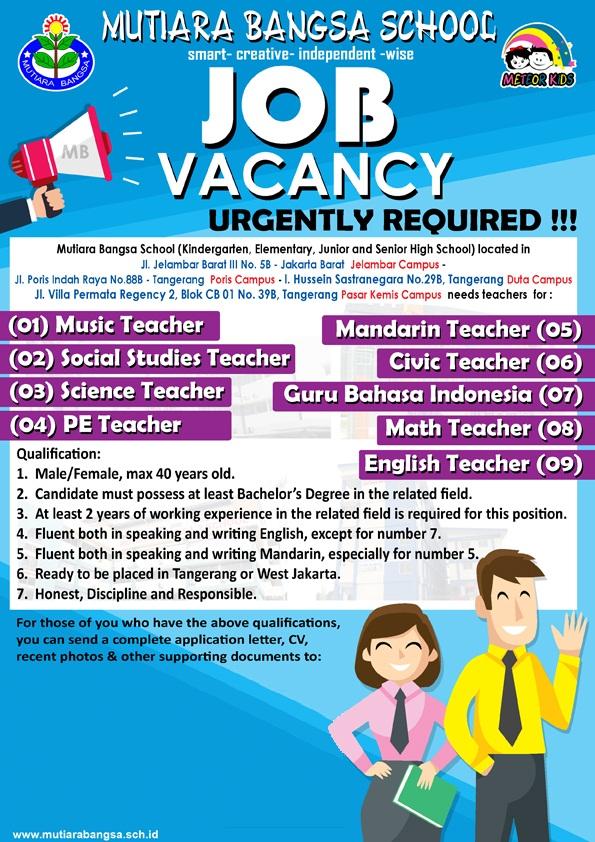 Job Vacancy MB