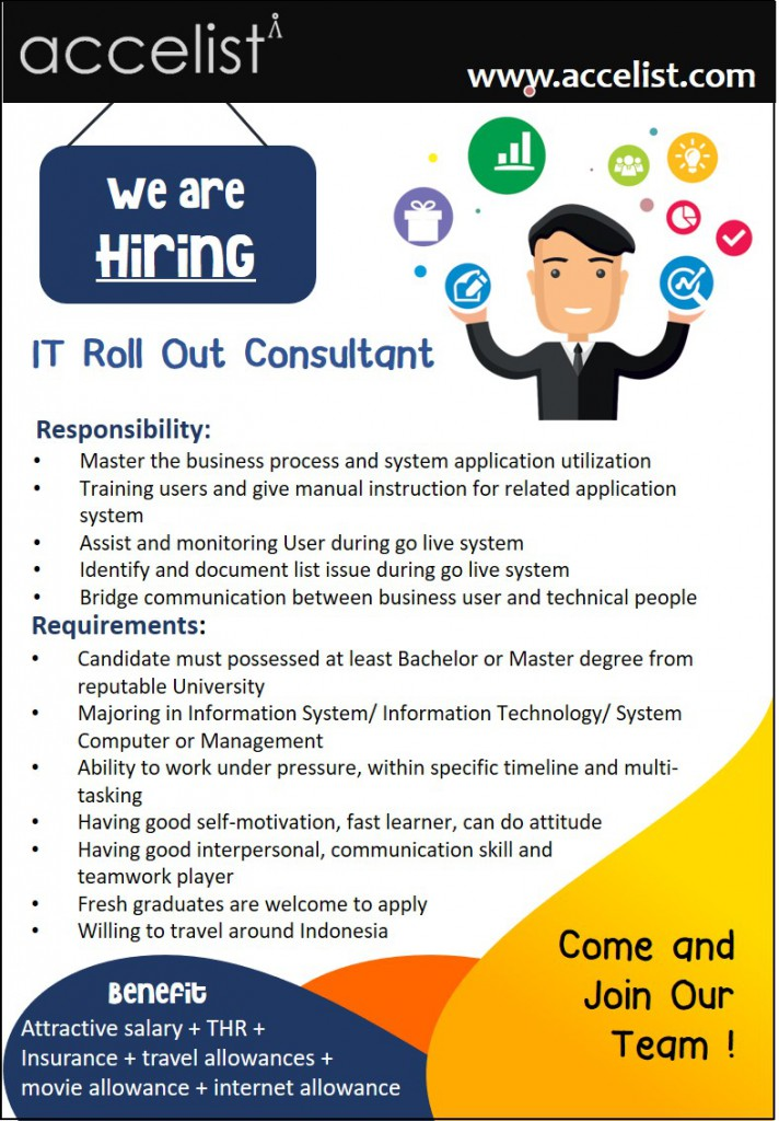 roll out consultant