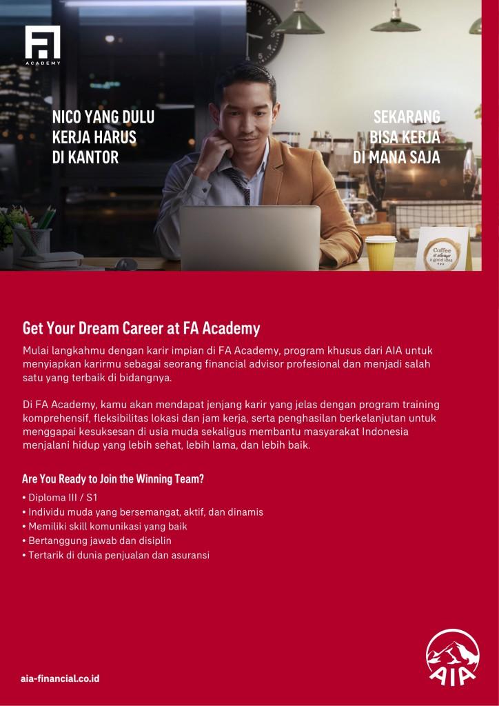 Poster FA Academy UBM