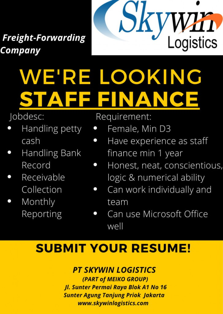 Staff Finance SL Maret 2020