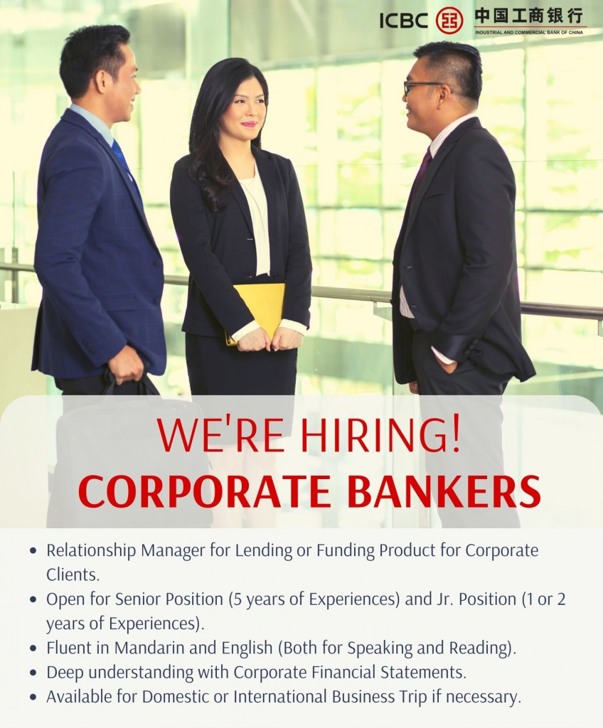 Relationship Manager - Corporate Banking I Department