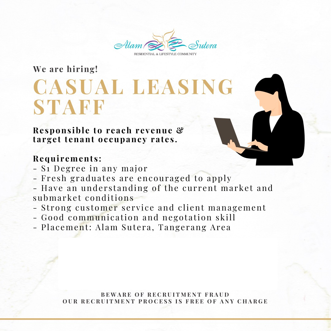 Casual Leasing Staff