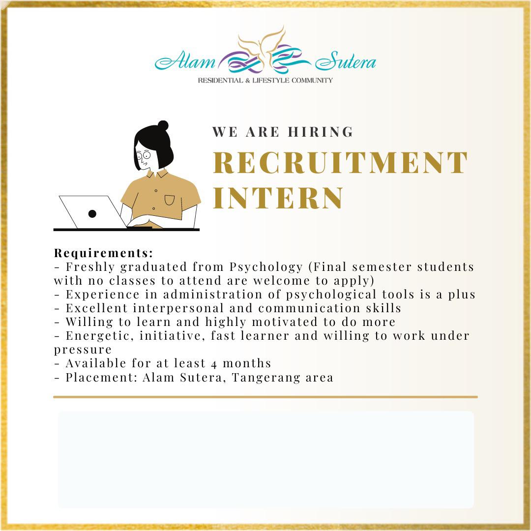 Intern Recruitment