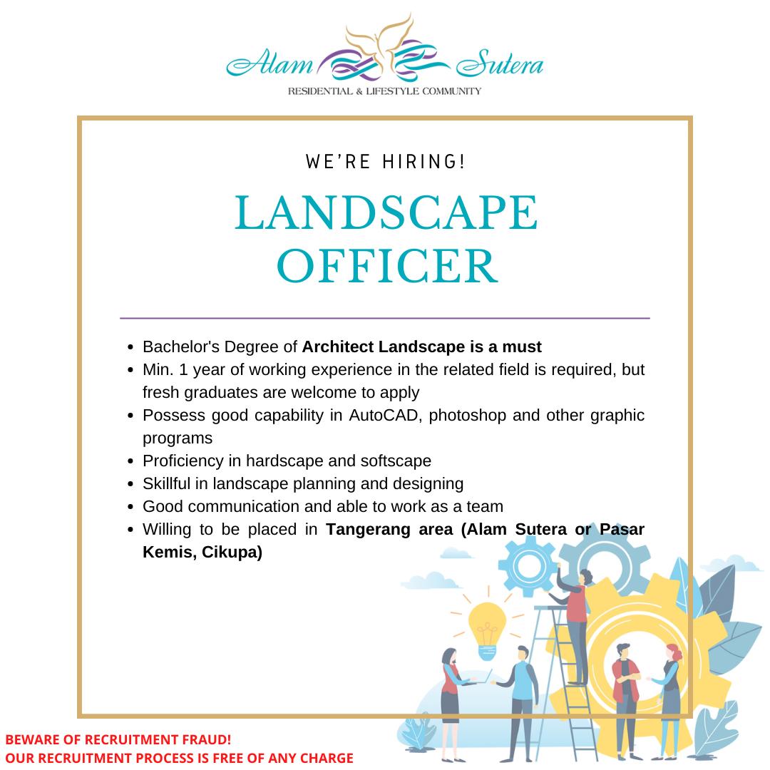 Landscape Officer